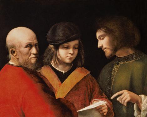 Giorgione, Tre età dell'uomo,